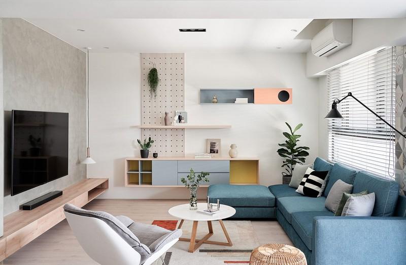 Mê mẩn thiết kế hiện đại của căn hộ 132m2 - Ảnh 1