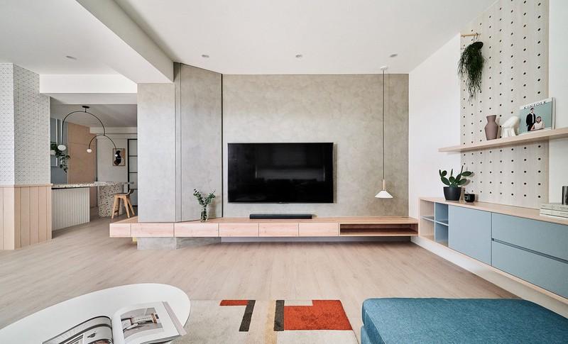 Mê mẩn thiết kế hiện đại của căn hộ 132m2 - Ảnh 4