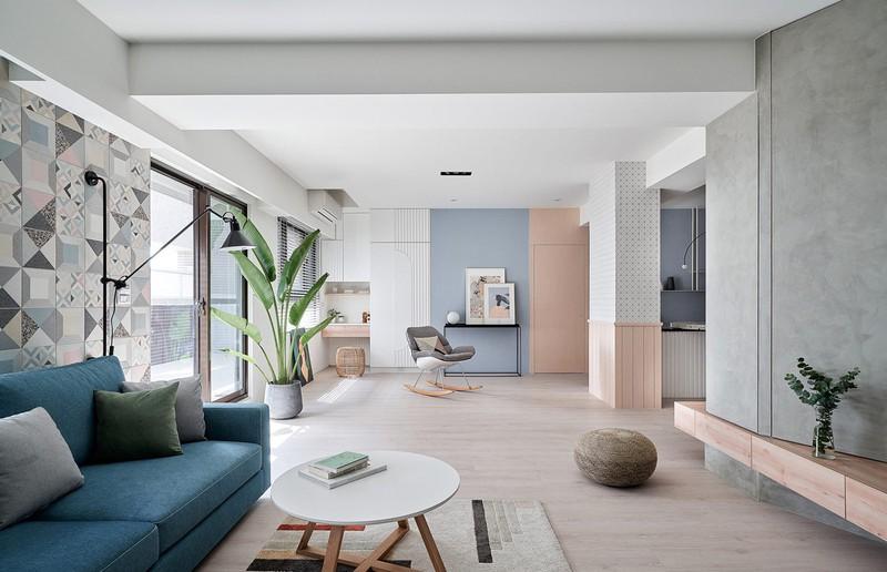 Mê mẩn thiết kế hiện đại của căn hộ 132m2 - Ảnh 5