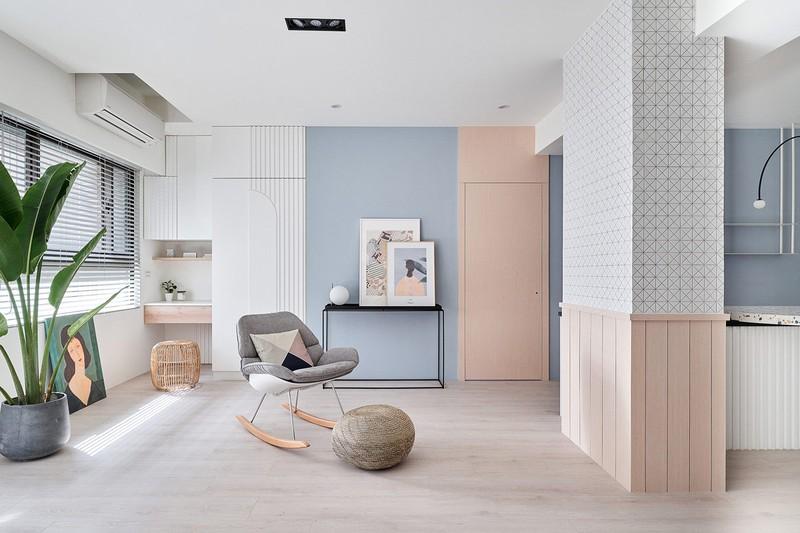 Mê mẩn thiết kế hiện đại của căn hộ 132m2 - Ảnh 6
