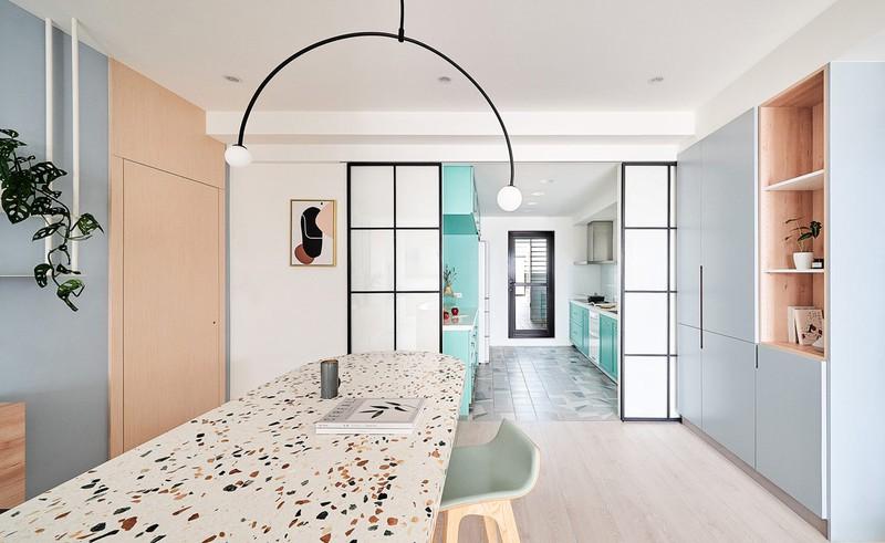 Mê mẩn thiết kế hiện đại của căn hộ 132m2 - Ảnh 9