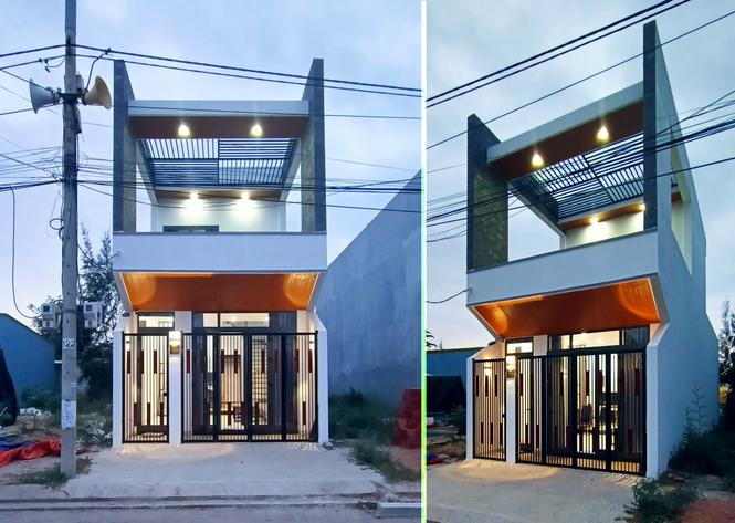 Nhà phố 2 tầng đẹp ấn tượng chỉ 750 triệu đồng ở Đà Nẵng - Ảnh 1