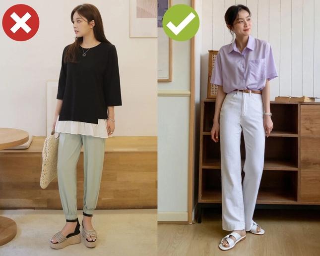 Những kiểu quần 'biến' chân dài thành chân ngắn bạn nên cân nhắc kỹ khi mua - Ảnh 1