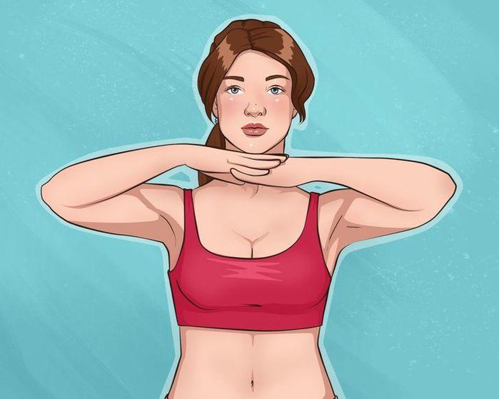 Tăng kích cỡ vòng 1 với 10 động tác đơn giản: vươn tay, giữ gối - Ảnh 11
