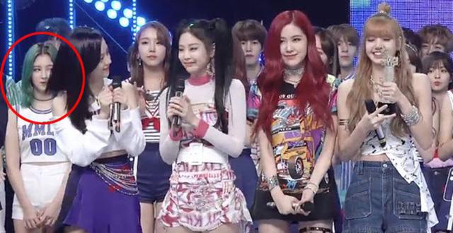 5 lần idol Kpop bị tố 'bẩn tính' với đồng nghiệp: Nancy lườm BLACKPINK, hoang mang nhất là mối thâm thù giữa Jimin (BTS) và Jungyeon (TWICE) - Ảnh 11