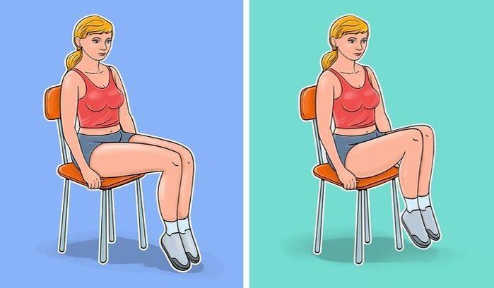 'Ngồi một chỗ' vẫn giúp mỡ bụng giảm 'ào ào' bằng 7 bài tập với ghế - Ảnh 6