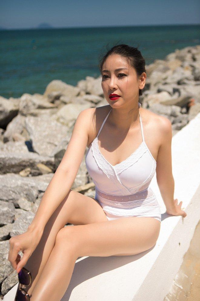 Lấy chồng tỷ phú, Hoa hậu Việt Nam 1992 tuổi 39 mang bầu lần 3, một năm mới về dáng - Ảnh 8