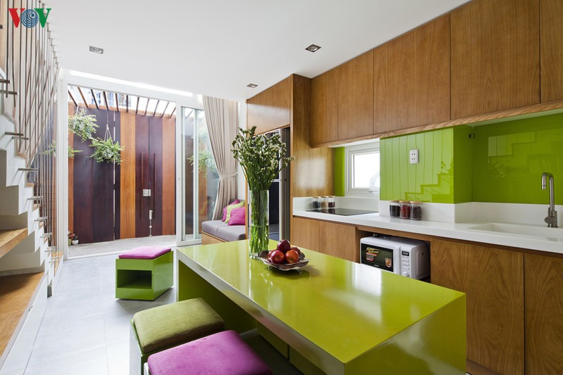 Giải pháp thiết kế nhà cho mảnh đất nhỏ - Ảnh 4
