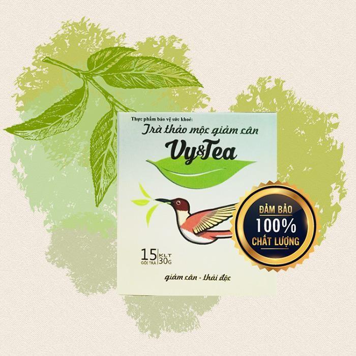 Trà giảm cân Vy Tea từ thảo mộc thiên nhiên - Ảnh 1