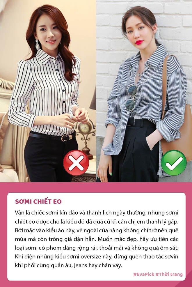 Đang trẻ măng mà mặc 6 kiểu áo này, nàng thể nào cũng bị chê lỗi thời, già dặn - Ảnh 6