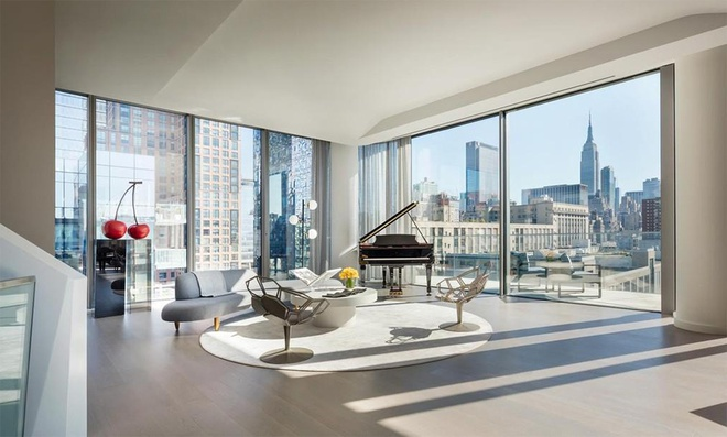 Bên trong căn penthouse 20 triệu USD của tỷ phú Mỹ - Ảnh 1