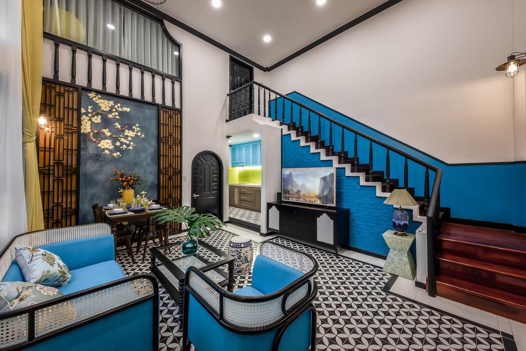 Cải tạo chung cư cũ phong cách Đông Dương với 700 triệu đồng - Ảnh 4