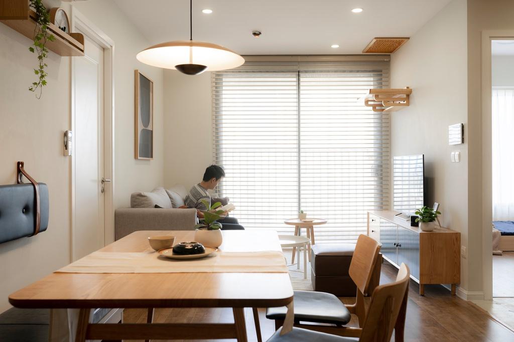 Căn hộ tận dụng ánh sáng tự nhiên với thiết kế 340 triệu đồng - Ảnh 1