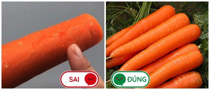 3 loại cà rốt thường thấy nhưng không nên mua khi đi chợ nhiều người đến giờ vẫn chưa biết - Ảnh 1