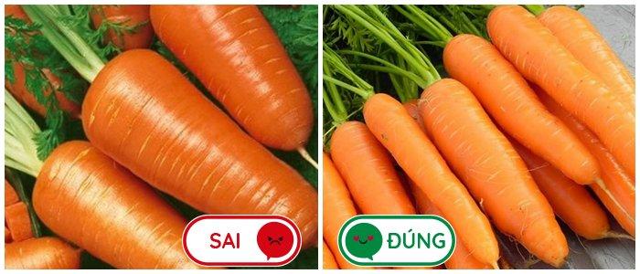 3 loại cà rốt thường thấy nhưng không nên mua khi đi chợ nhiều người đến giờ vẫn chưa biết - Ảnh 3