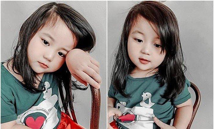 2 tiểu mỹ nhân gốc Việt gây 'sốt' cộng đồng mạng quốc tế, có bé nói 3 thứ tiếng dù mới 3 tuổi - Ảnh 1