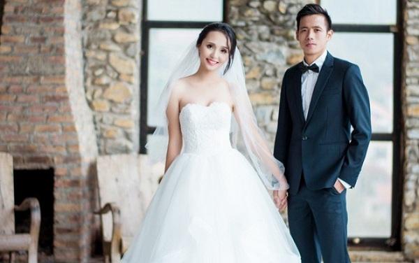 Trầm trồ trước gia thế 'không phải dạng vừa' của vợ các cầu thủ nổi tiếng làng bóng Việt - Ảnh 5