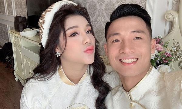 Trầm trồ trước gia thế 'không phải dạng vừa' của vợ các cầu thủ nổi tiếng làng bóng Việt - Ảnh 6