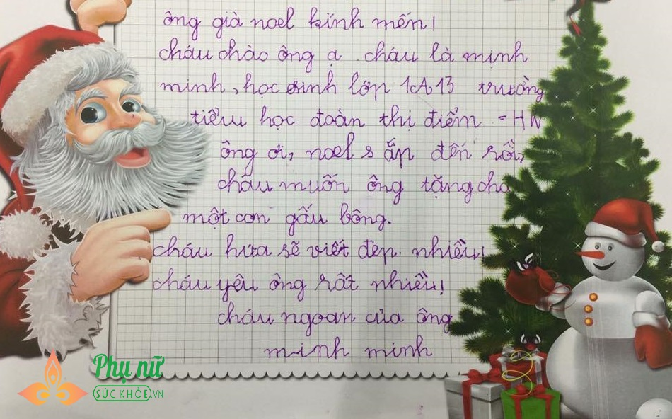 Cười vỡ bụng những bức thư 'bá đạo' hội nhóc tì gửi ông già Noel xin quà  - Ảnh 3