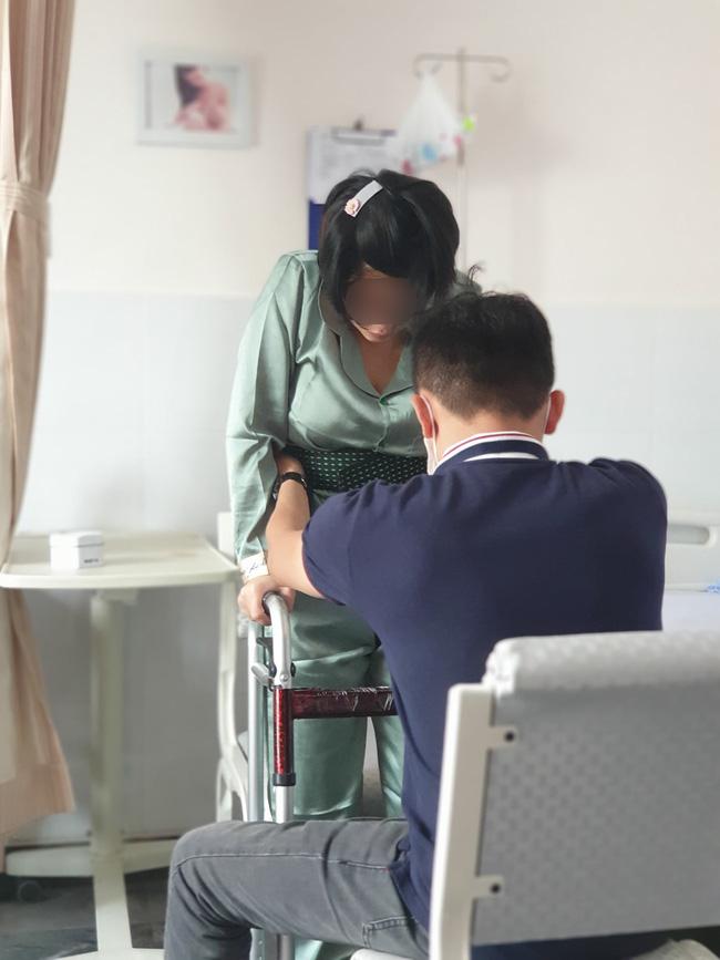 Vợ bị liệt nửa người sau sinh, chồng bức xúc tố bệnh viện phụ sản ở TP.HCM tự ý gây tê dẫn đến sai sót - Ảnh 2