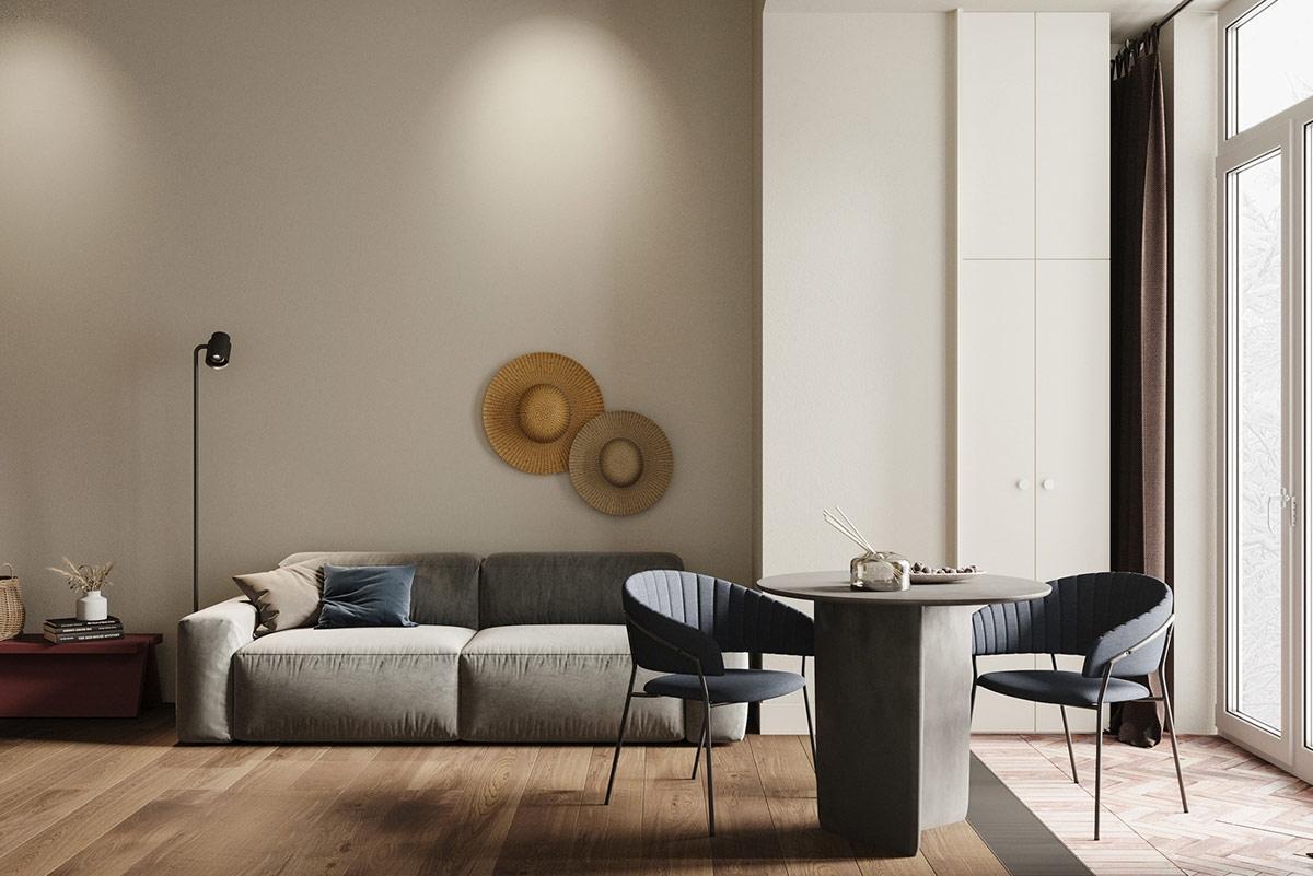 Ngôi nhà đẹp như tác phẩm nghệ thuật với diện tích chỉ 45m2 - Ảnh 2