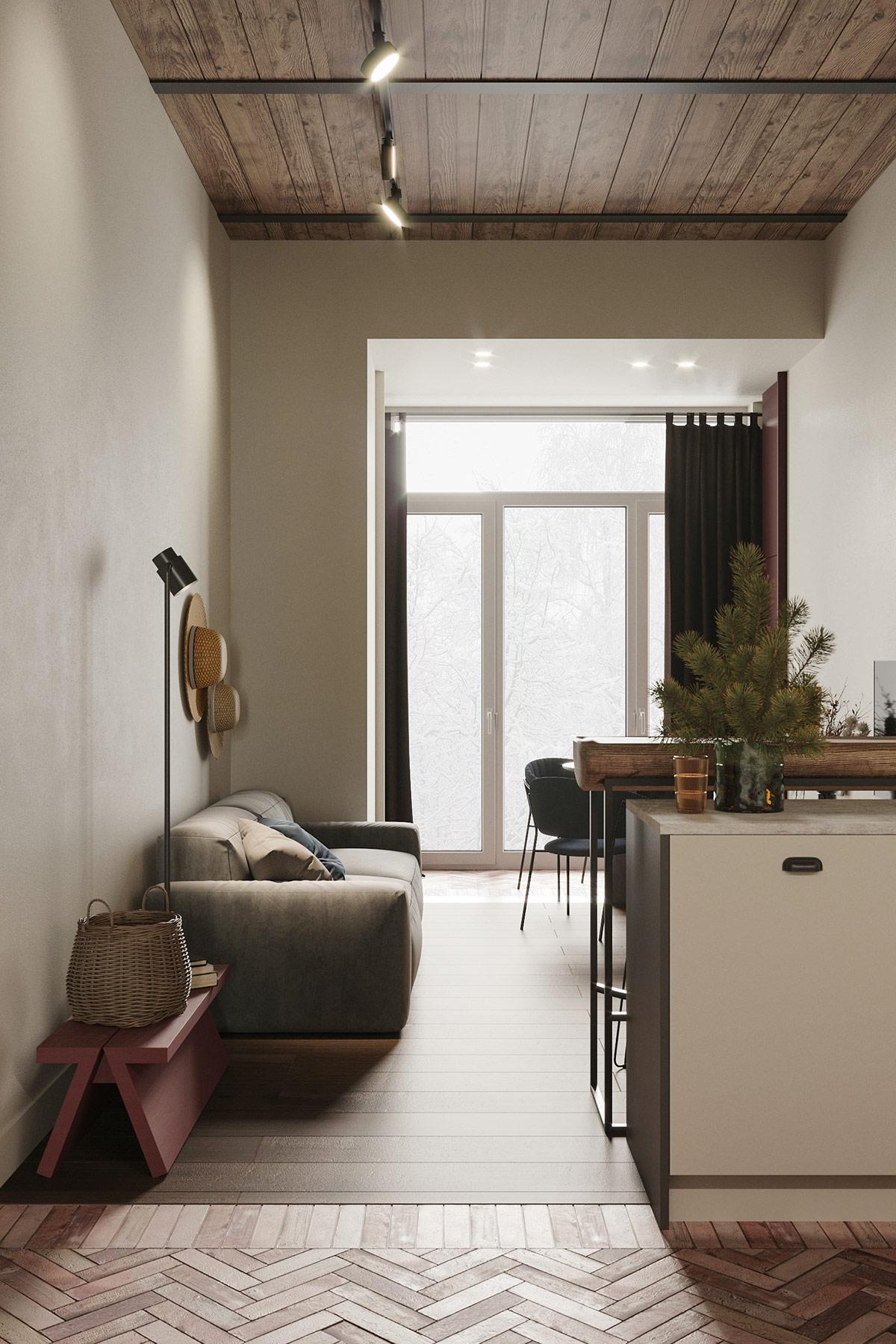 Ngôi nhà đẹp như tác phẩm nghệ thuật với diện tích chỉ 45m2 - Ảnh 3