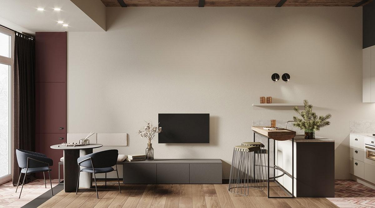 Ngôi nhà đẹp như tác phẩm nghệ thuật với diện tích chỉ 45m2 - Ảnh 1