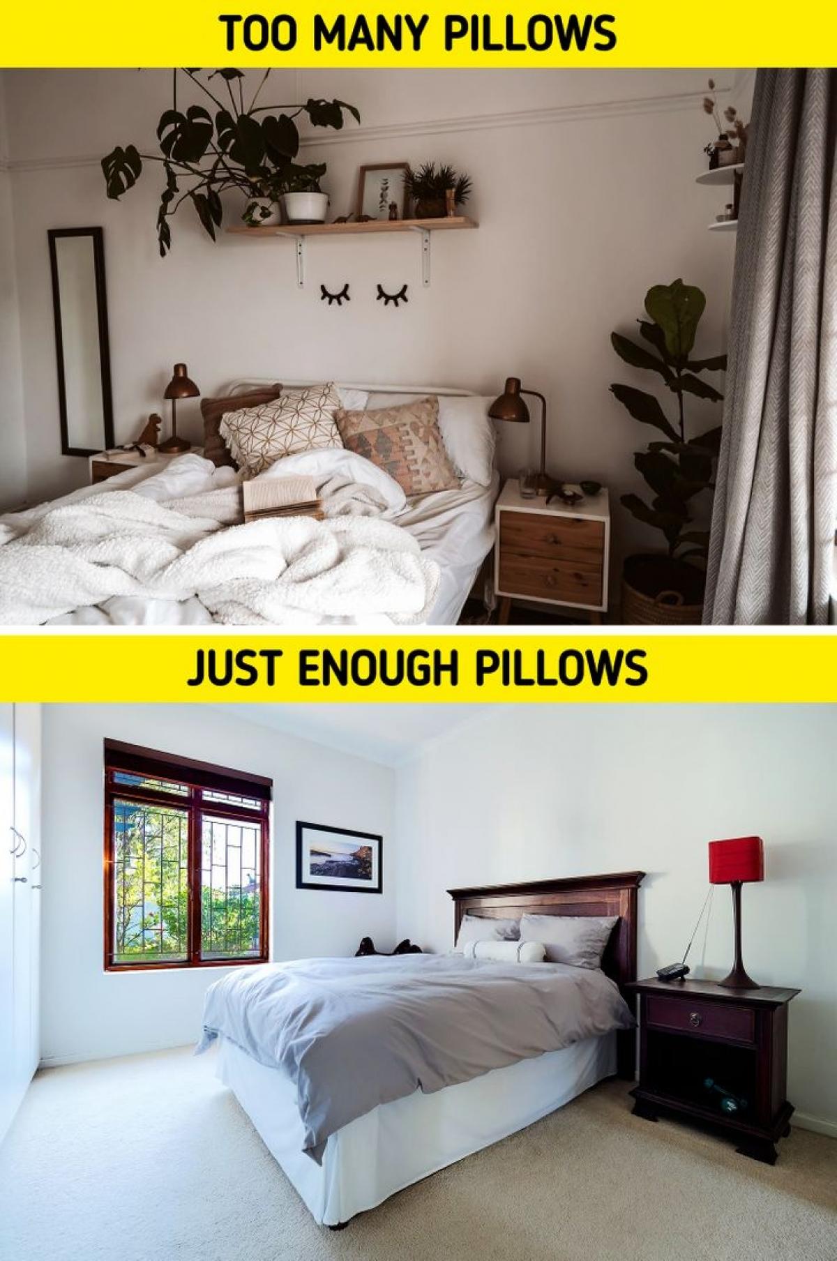 Những sai lầm nhiều người mắc khi thiết kế phòng ngủ - Ảnh 2