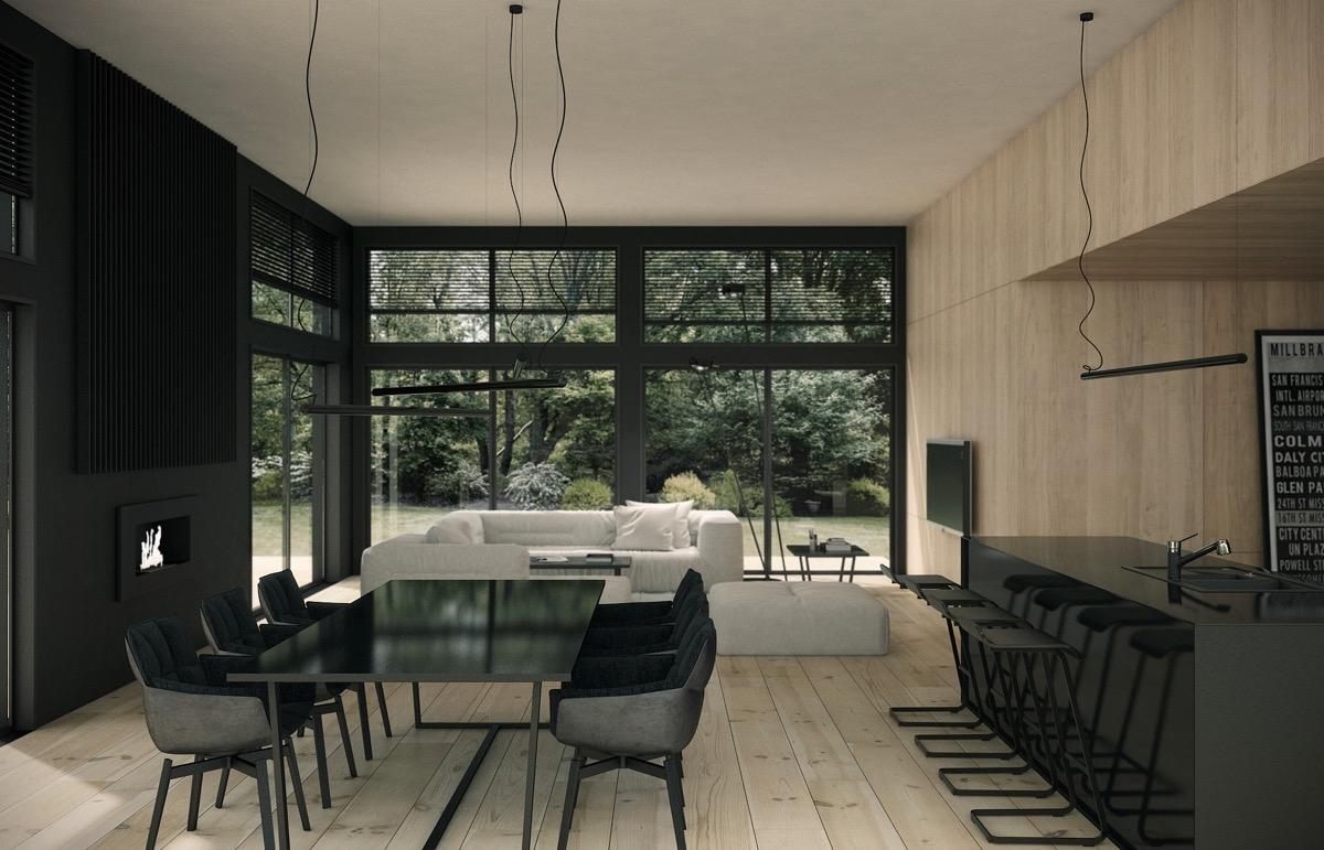 Tham khảo các thiết kế phòng ăn gắn liền với phòng khách tinh tế đến không ngờ - Ảnh 6