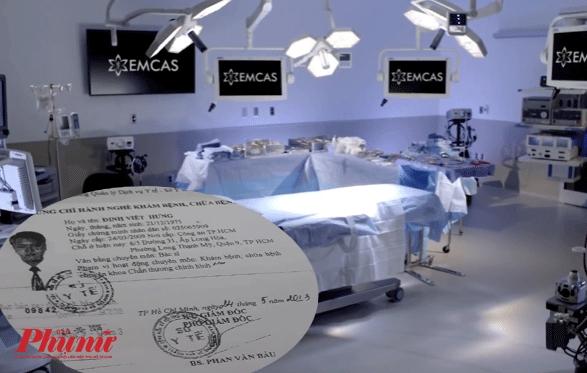Bác sĩ liên quan vụ tử vong ở Bệnh viện Thẩm mỹ Emcas: Giả mạo chứng chỉ hành nghề? - Ảnh 2