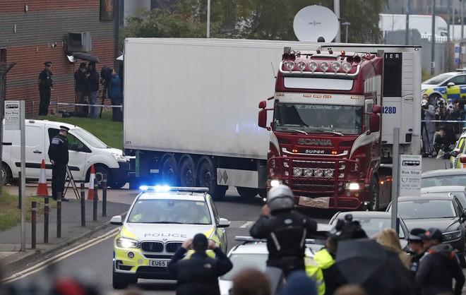 Cảnh sát Essex: 39 người chết trong xe container ở Anh mang quốc tịch Việt Nam - Ảnh 1