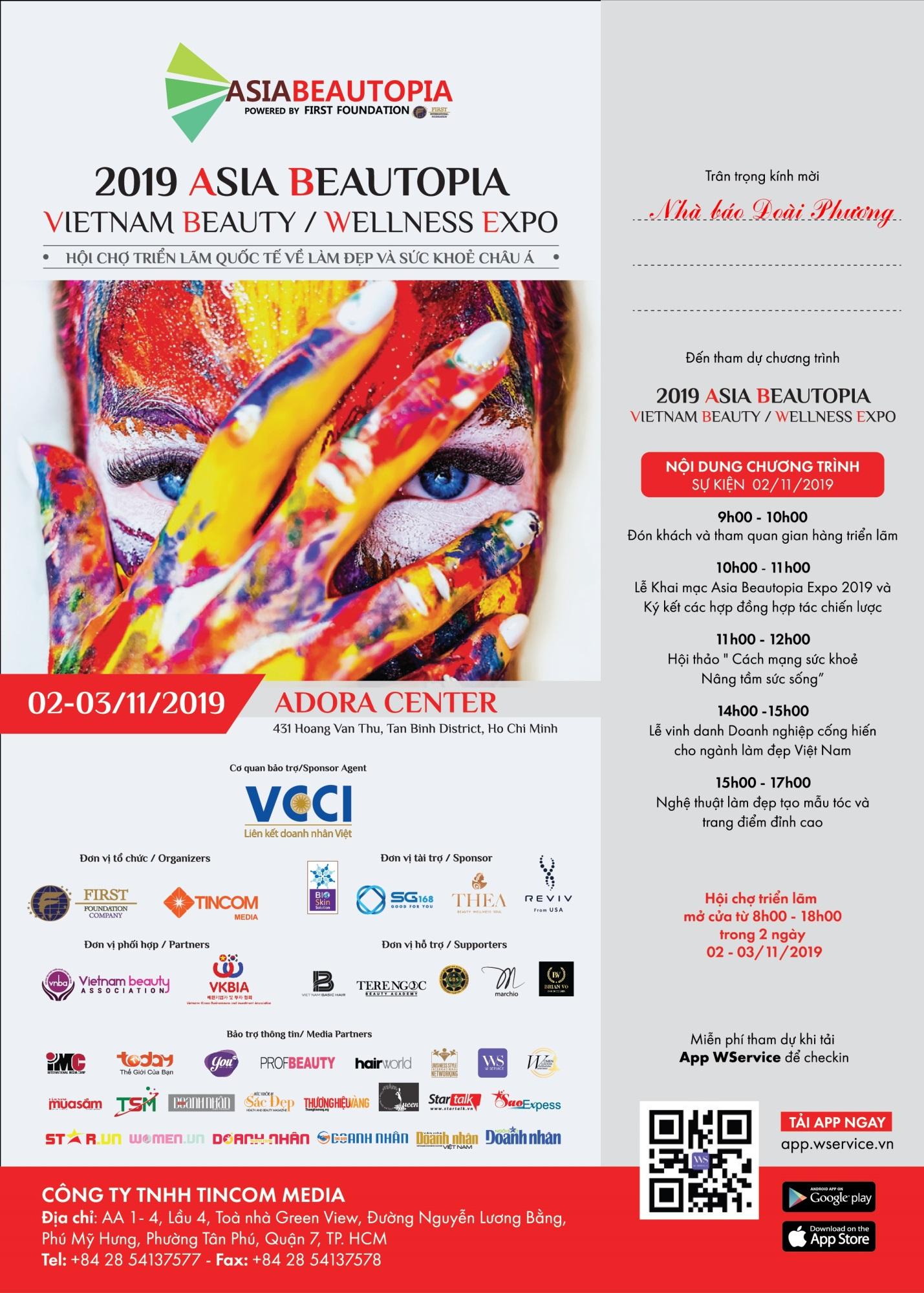 'Hội chợ triển lãm quốc tế về làm đẹp và chăm sóc sức khỏe châu Á – Asia Beautopia Expo 2019' thu hút hàng trăm doanh nghiệp nước ngoài đến Việt Nam - Ảnh 3