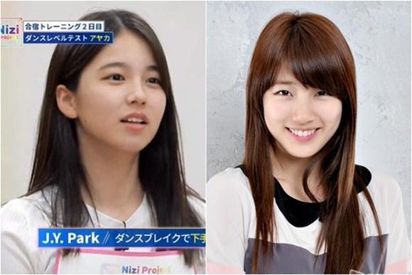 Những 'mầm non visual' JYP gây sốt vì giống Suzy, Twice - Ảnh 3