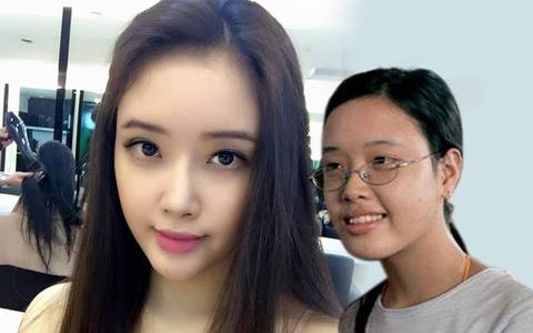 Không còn là cô bé tóc xoăn mắt cận , em gái Mai Phương Thuý ngày càng  'trổ mã' xinh đẹp xứng danh mỹ nhân - Ảnh 1