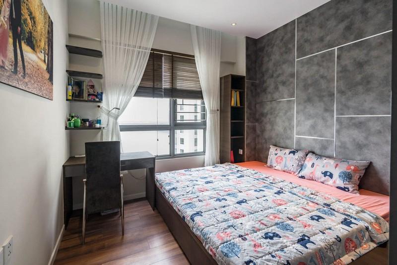 Căn hộ chung cư tông màu xám bền đẹp theo thời gian - Ảnh 6
