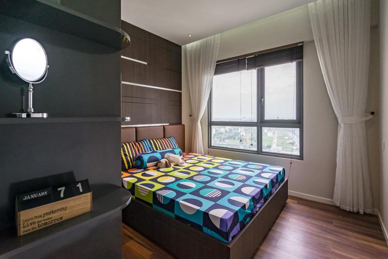 Căn hộ chung cư tông màu xám bền đẹp theo thời gian - Ảnh 9