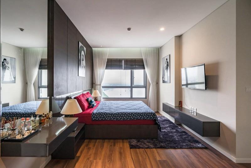 Căn hộ chung cư tông màu xám bền đẹp theo thời gian - Ảnh 10