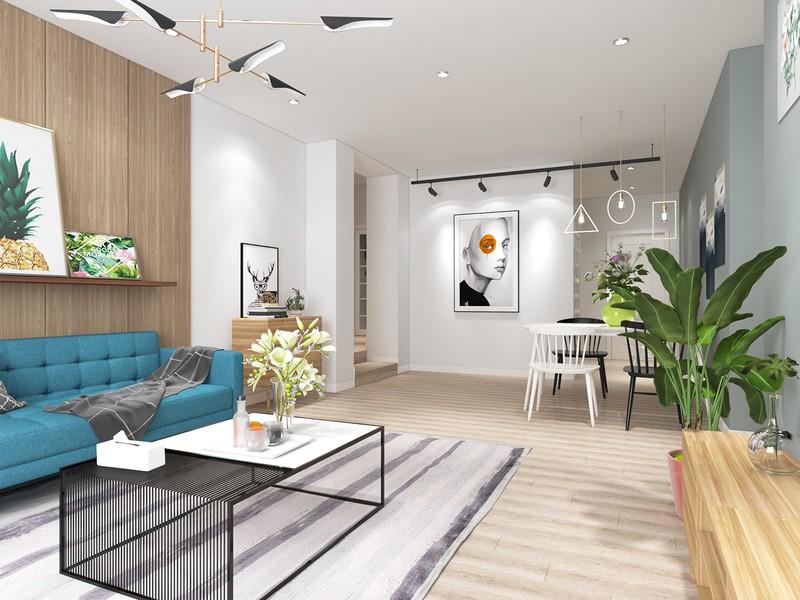 Ngắm căn hộ cho thuê mang màu sắc nhiệt đới - Ảnh 2
