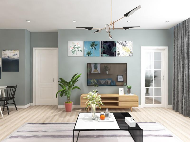 Ngắm căn hộ cho thuê mang màu sắc nhiệt đới - Ảnh 3