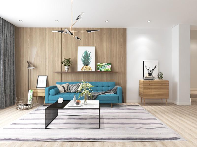 Ngắm căn hộ cho thuê mang màu sắc nhiệt đới - Ảnh 1