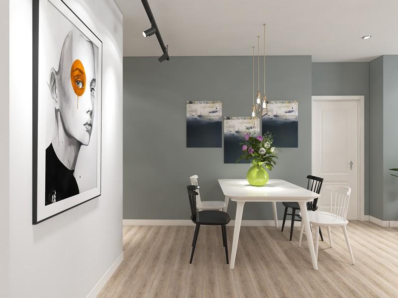 Ngắm căn hộ cho thuê mang màu sắc nhiệt đới - Ảnh 4