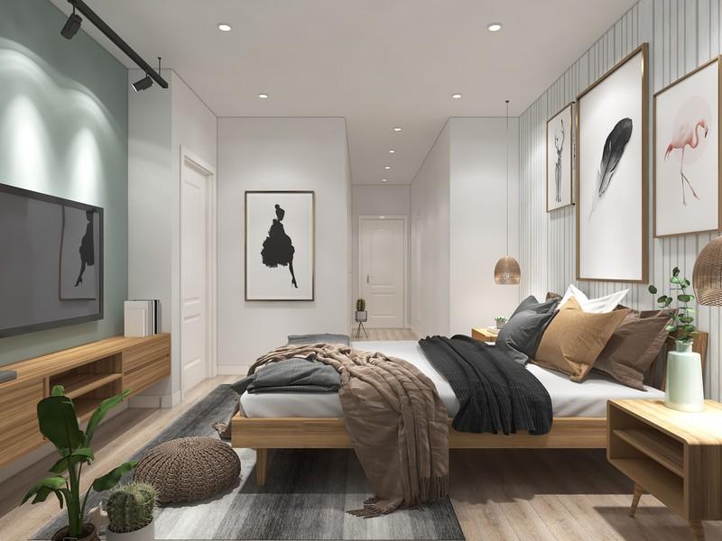 Ngắm căn hộ cho thuê mang màu sắc nhiệt đới - Ảnh 8