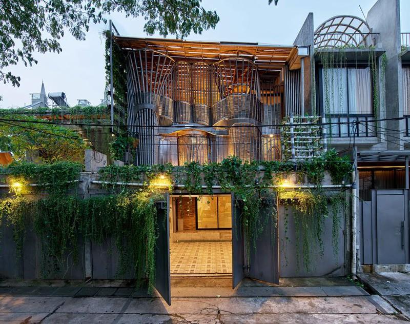 Ngôi nhà phủ kín cây xanh như bước ra từ câu chuyện cổ tích - Ảnh 4
