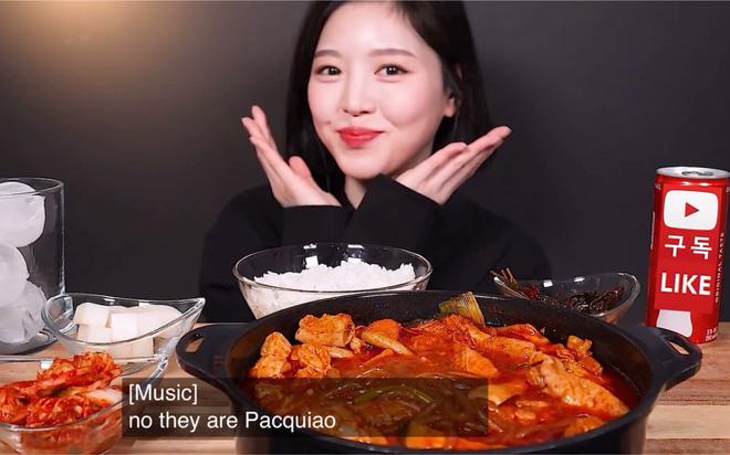Xuất hiện 'thánh ăn' mới của Hàn Quốc: Sức ăn gấp 5 lần đàn ông nhưng lại sở hữu nhan sắc búp bê và thân hình sexy 'nghẹt thở'  - Ảnh 5