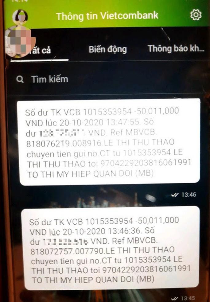 'Góa phụ Rào Trăng 3' bị chiếm đoạt tiền hỗ trợ: Vietcombank tạm ứng 100 triệu đồng? - Ảnh 2