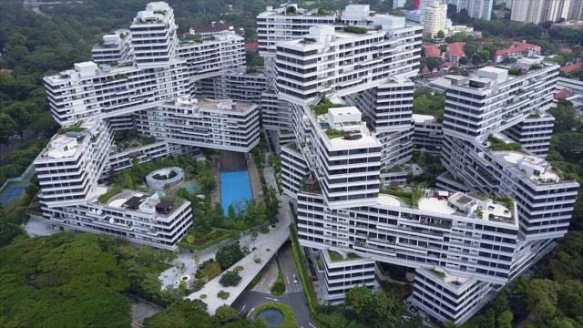 Kinh ngạc những công trình kiến trúc 'có một không hai' ở Singapore - Ảnh 2