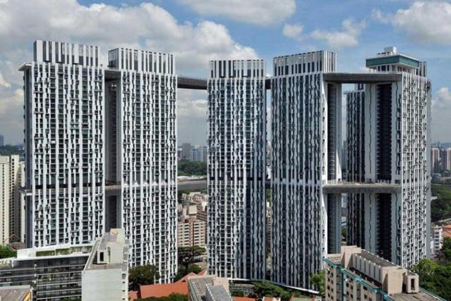 Kinh ngạc những công trình kiến trúc 'có một không hai' ở Singapore - Ảnh 8