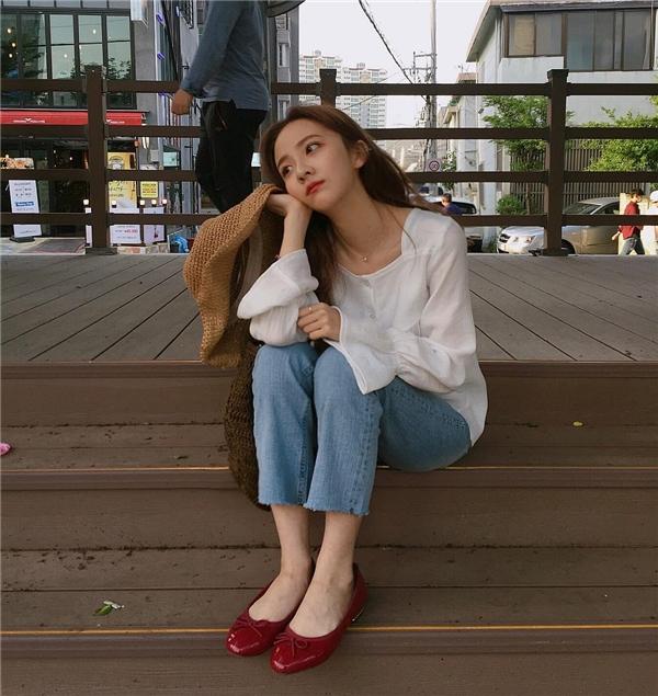 Thêm 1 cô gái Hàn xinh đẹp và đáng yêu 'phát ngất' gây sốt MXH - Ảnh 14