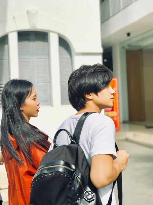 Sở hữu góc nghiêng xuất sắc và tóc hai mái, chàng trai thường bị nhầm là Nguyễn Trọng Tài Hongkong1 - Ảnh 2