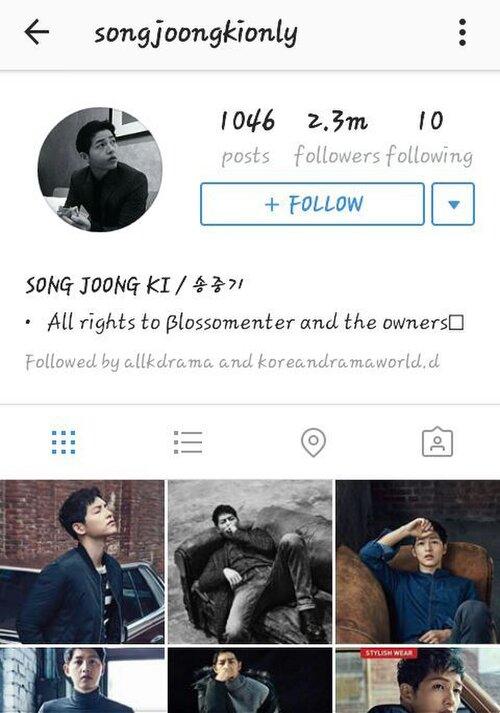 Kim Woo Bin, Song Joong Ki bị mạo danh: Cảnh báo về tài khoản giả hơn 2 triệu follow trên Instagram! - Ảnh 3